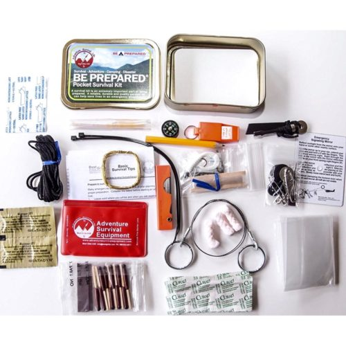Best Glide Be Prepared Pocket Survival Kit