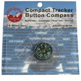 Compact Tracker Button Compass