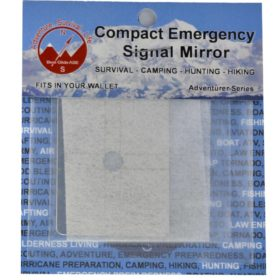 Best Glide Compact Emergency Signal Mirror