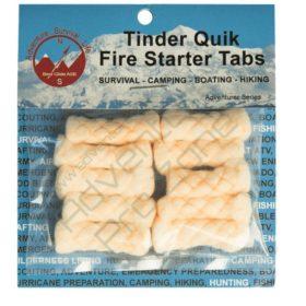 Tinder Quik Fire Tabs