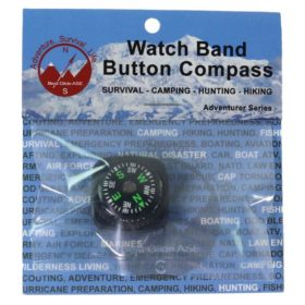 BG Watch Band Button Compass