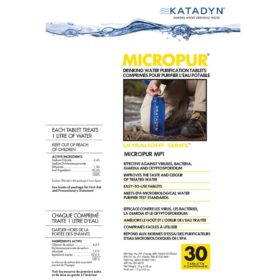 Micropur MP1 Water Purification Tablets