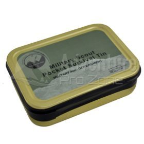 Best Glide Military Scout Pocket Survival Tin