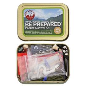 Best Glide Be Prepared Pocket Survival Kit