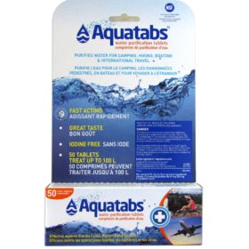 Aquatabs 1L x 50