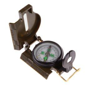 Folding Lens Compass