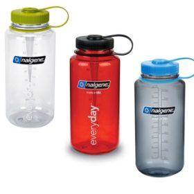 Nalgene 1 L Wide Mouth Water Bottle