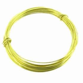 brass snare wire 20 GA