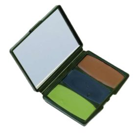 Camo-Compac 3 Color Woodland Makeup Kit