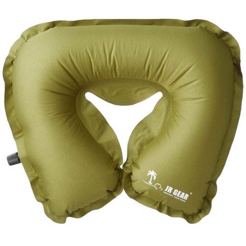 JR Gear Self Inflating U Pillow
