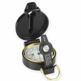 NDuR Lensatic Compass with Whistle