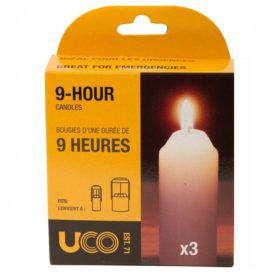 UCO Replacement Candles 3-pack