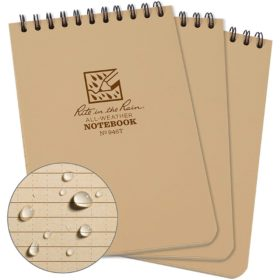 All-Weather Tactical Notebook 946T, 4x6 inch