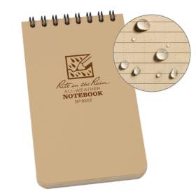 All-Weather Tactical Notebook 935T, 3x5 in