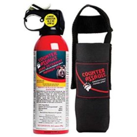 Counter Assault Bear Spray 230g with Holster