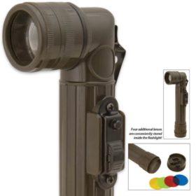 Mini Angle Head Tactical Flashlight