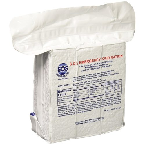 S.O.S. Emergency Food Ration 3600 Calorie