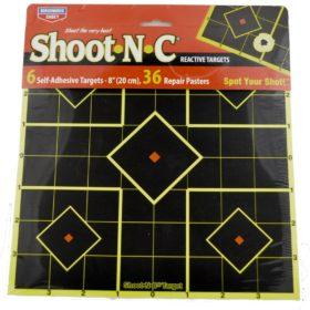 Shoot-N-C 8-Inch Reactive Targets, 6-Pack