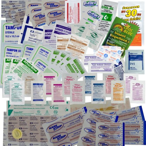First Aid Medical & Wound Supplies Refill Extreme