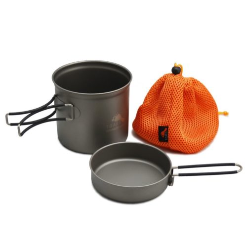 TOAKS TITANIUM 1100ML POT WITH PAN