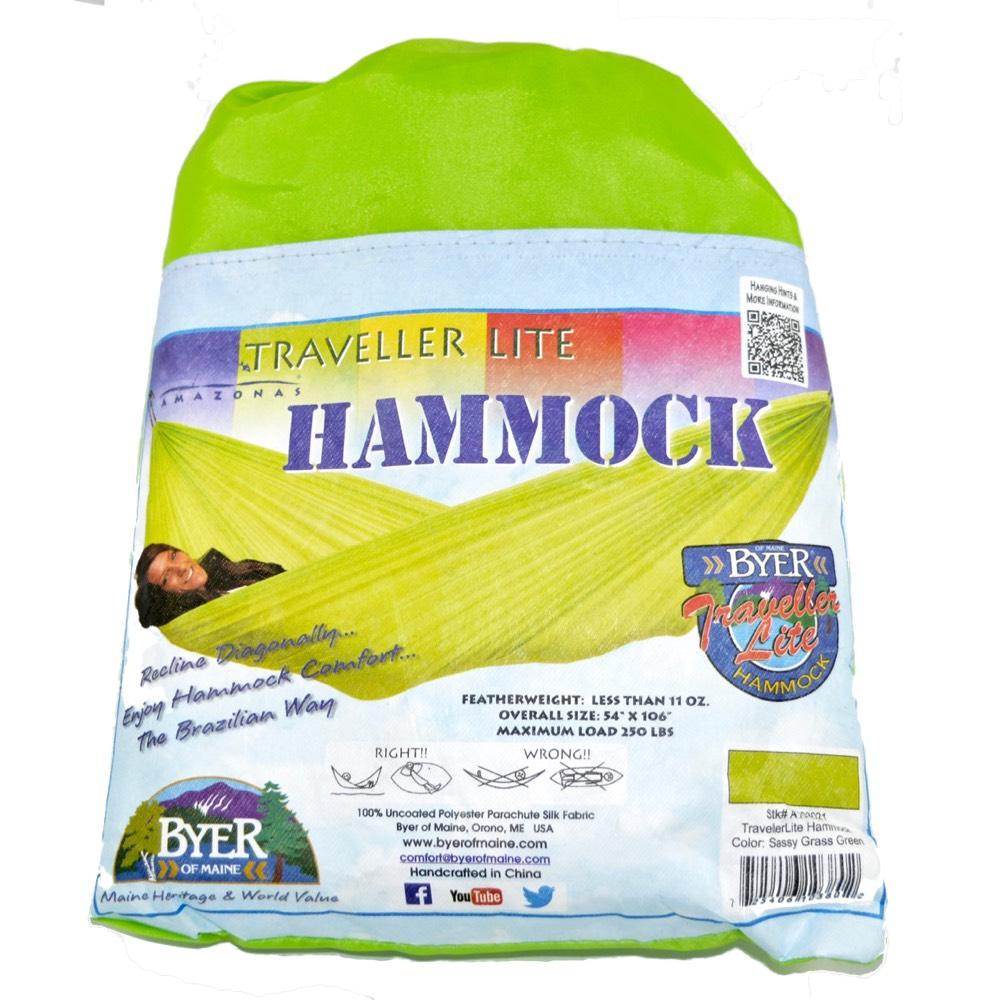 byer of maine traveller lite hammock byer of maine traveller lite hammock   adventure pro zone  rh   adventureprozone ca