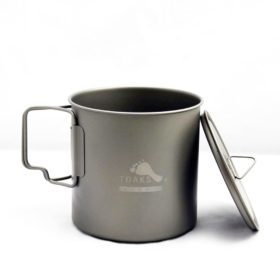 TOAKS Ultralight Titanium 650 ml Pot