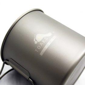 TOAKS Ultralight Titanium 650 ml Pot