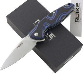 RUIKE Fang P105-Q EDC Folding Knife, Blue