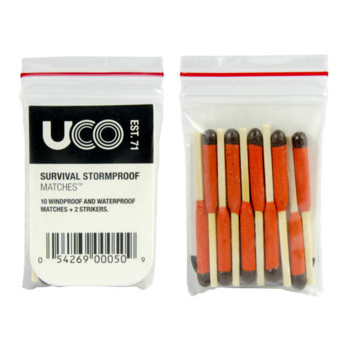 UCO Survival Stormproof Matches, 10-Pack