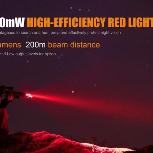 Fenix TK25 Red Tactical Flashlight