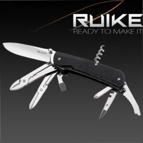 RUIKE TREKKER LD41-B MULTI-TOOL KNIFE
