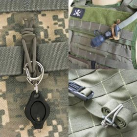 MOLLE Web Dominator with Elastic String
