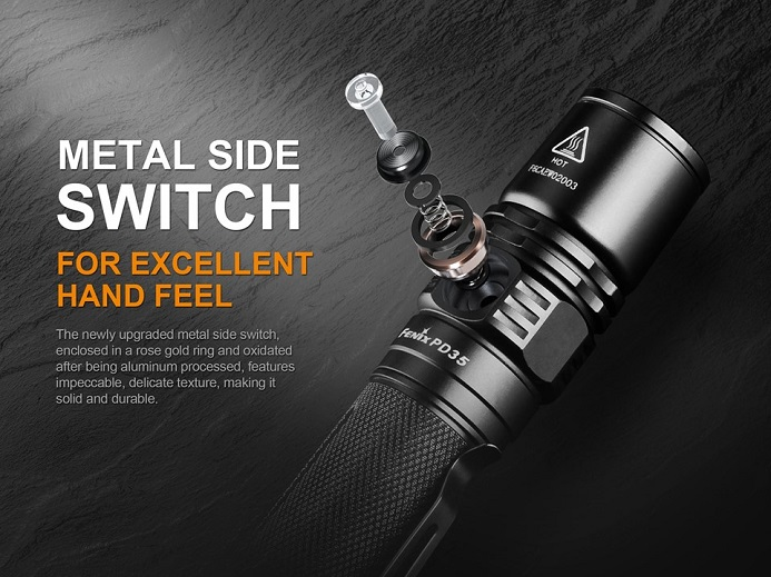 The Best Seller Fenix PD35 V2.0 is Out
