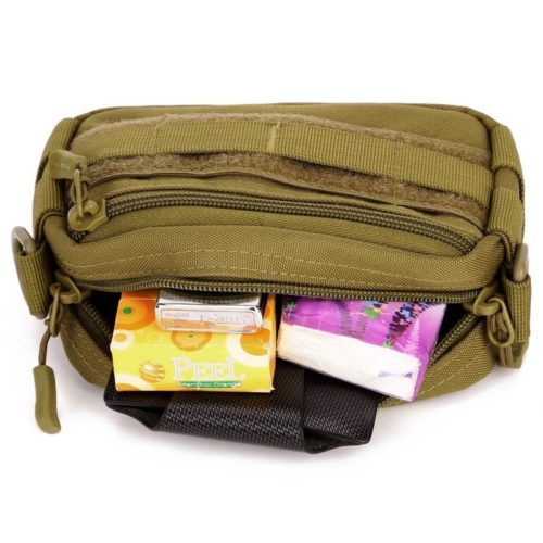 Protector Plus Tactical Utility MOLLE Pouch is made of tough and durable 1000 denier cordura nylon and incorporates a great functional design with strong webbing belt loops on the rear site.