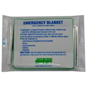 SafeCross Emergency Blanket