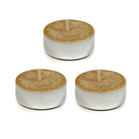 UCO Beeswax Tealight Candles, 3-pack