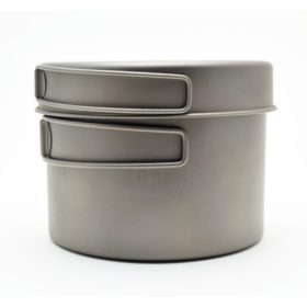 TOAKS TITANIUM 1300 ml Pot with Pan