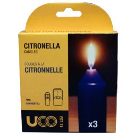 9-hour UCO citronella candles