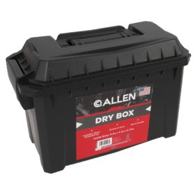 Allen Company Dry Box, Small, Black