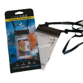 aLOKSAK Phone Caddy with Lanyard, 3.9x7 inch