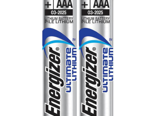 Energizer Ultimate Lithium AAA Battery, 2-pack
