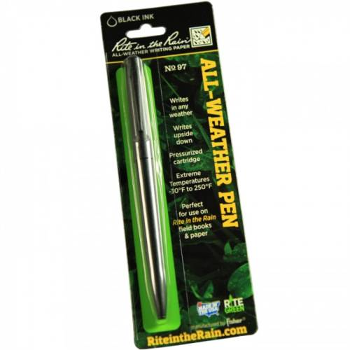 All-Weather Tactical Metal Clicker Pen No. 97