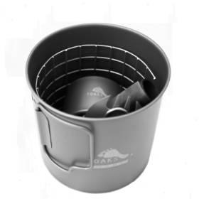 Titanium Alcohol Stove Cook System CS-02