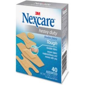 Nexcare Heavy Duty Fabric Bandages