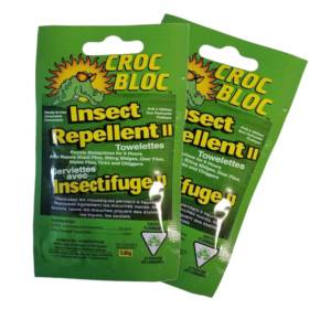 Croc Bloc Insect Repellent Towelettes