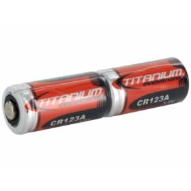 Titanium Innovations CR123A Double Pack