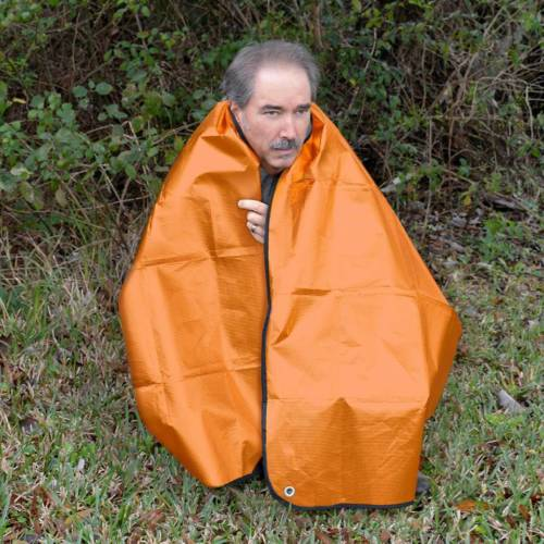 UST Survival Blanket 2.0, Orange/Reflective