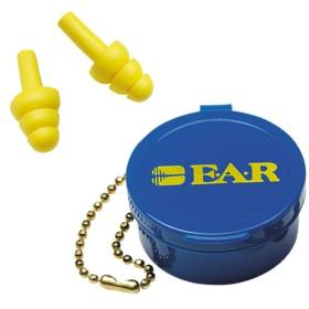 E-A-R Ultrafit Premolded Reusable Earplugs