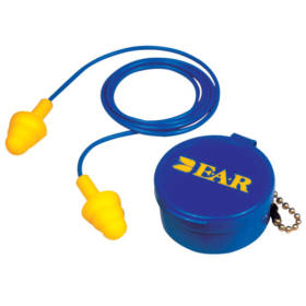 E-A-R UltraFit Corded Reusable Earplugs