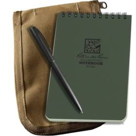 All-Weather Top-Spiral Notebook Kit, 4 x 6 inch